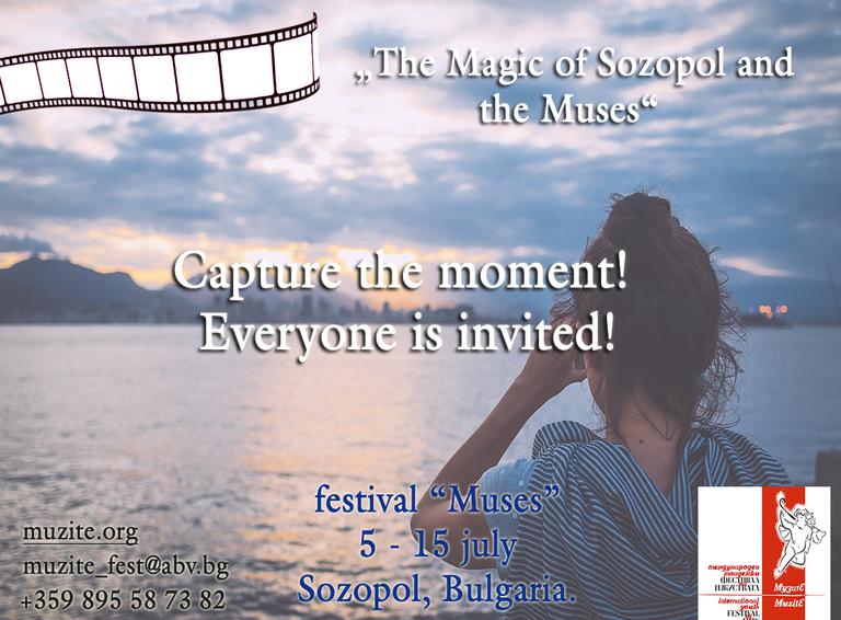 Festival Muses 5 -15 July 2018 Sozopol Bulgaria
