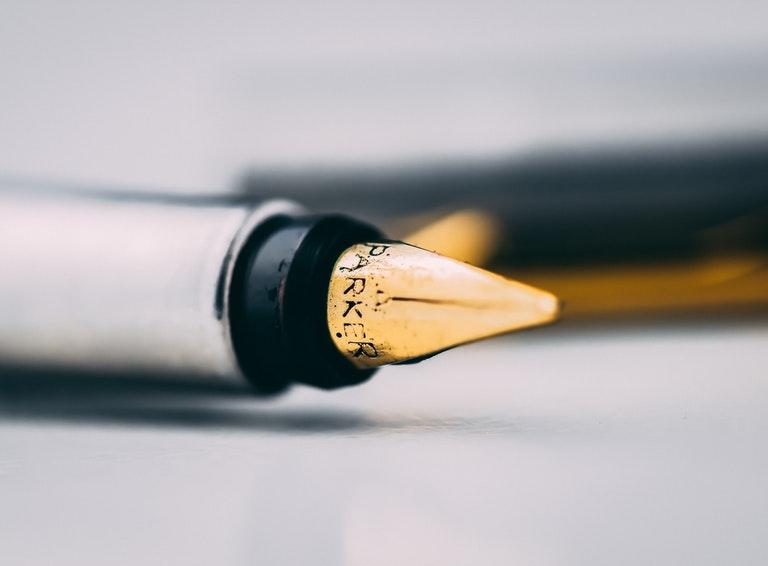 Just a pen